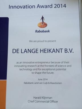 Rabobank innovatie