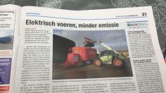 Elektrisch voeren, minder emissie