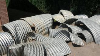 Ventilatie kanalen na gebruik