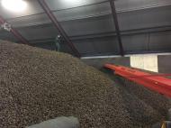 Aardappel opslag - inschuren de Lange Heikant BV